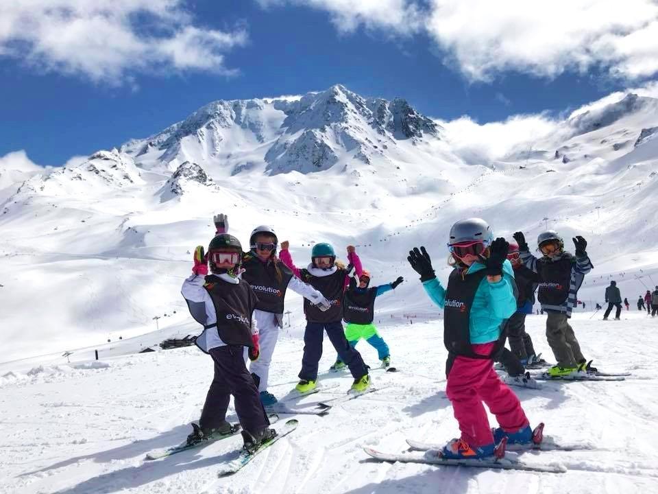 Cours de ski Enfants (4-17 ans) pour Tous niveaux