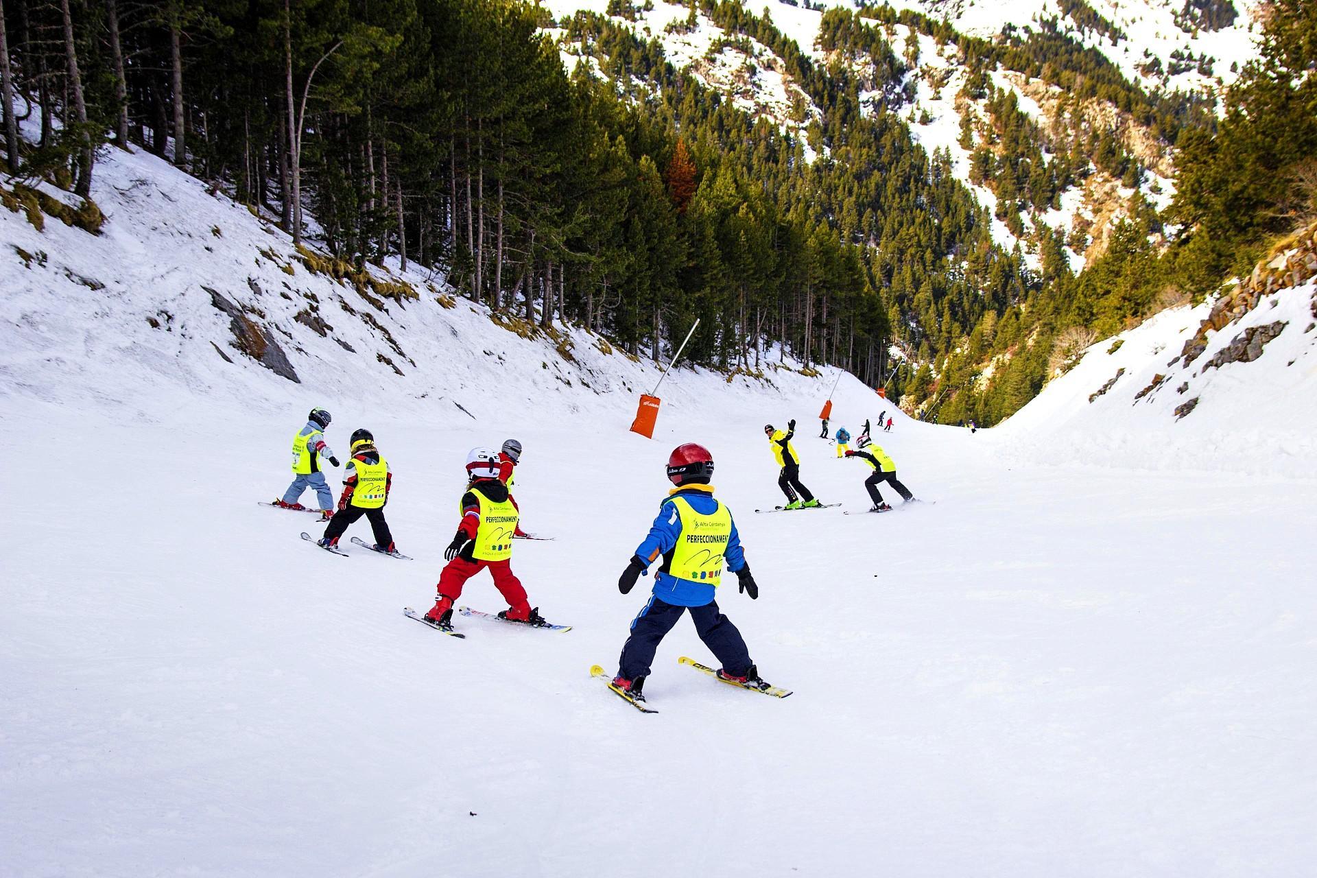 Clases de esquí (4-6 años) para Principiantes - Navidad