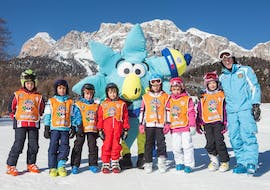 Kids Ski Lessons (4-6 y.) for Beginners