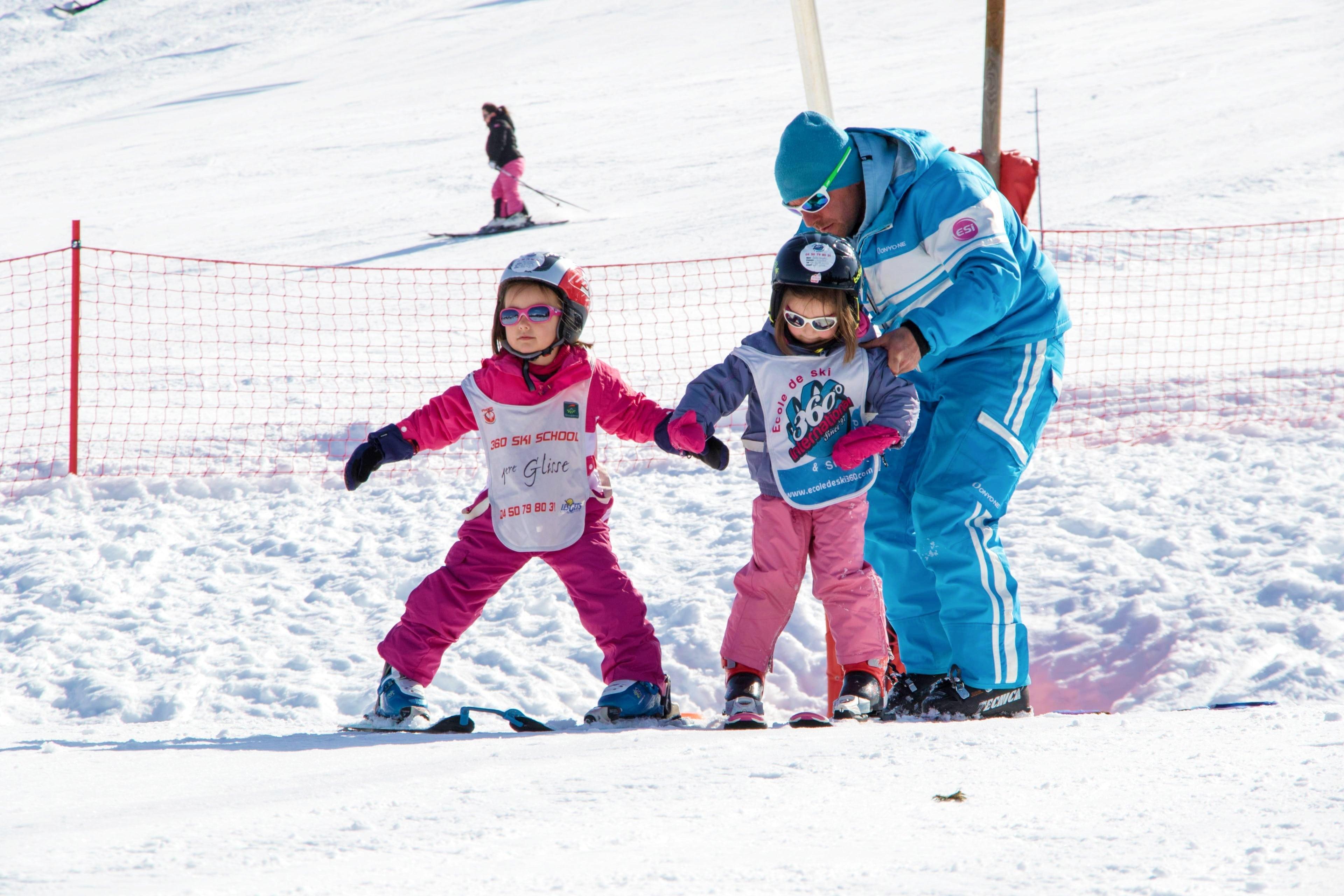 1er Cours de ski Enfants (4-8 ans) - Basse saison