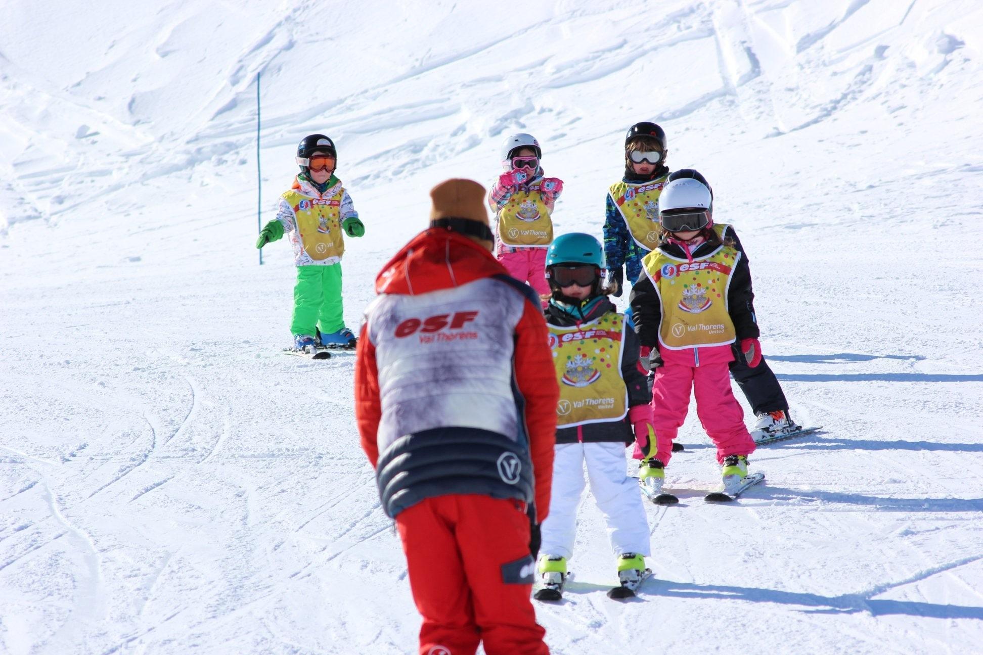 Skilessen voor kinderen vanaf 5 jaar voor alle niveaus
