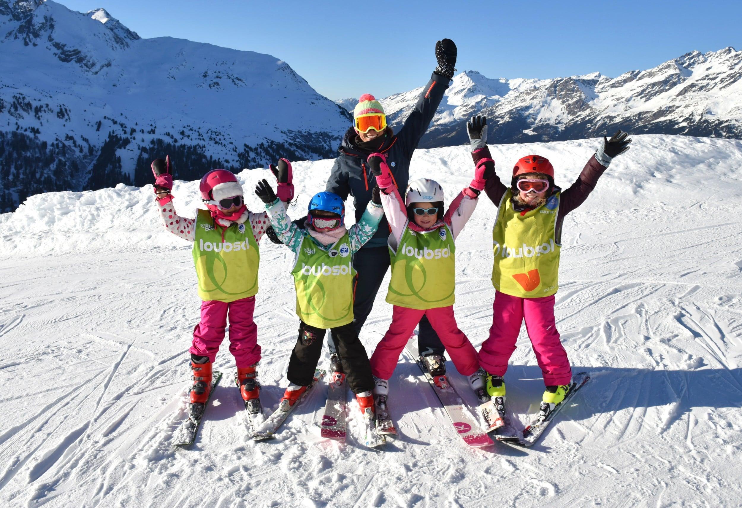 Cours de ski Enfants (5-12 ans) pour Tous niveaux - Vacances