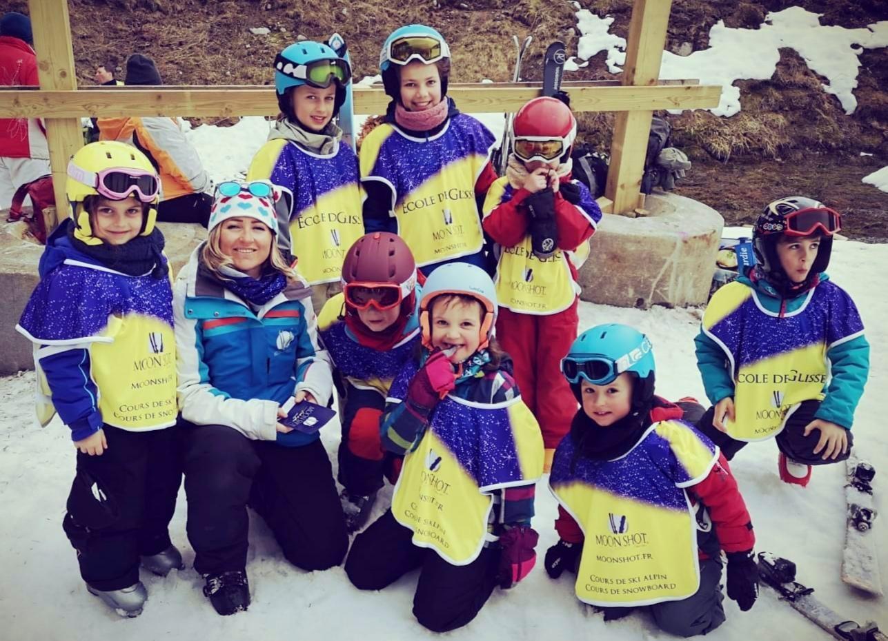 Skilessen voor kinderen vanaf 8 jaar - beginners
