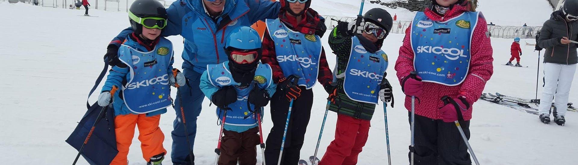 Kids Ski Lessons (5-12 years) - Equipment incl. - Advanced