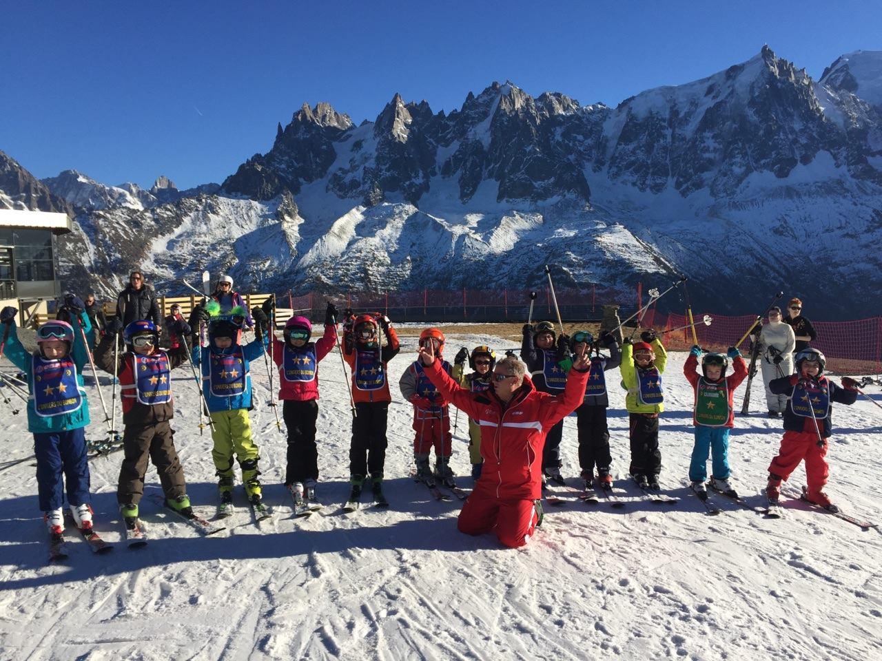 Cours de ski pour Enfants (5-12 ans) à Chamonix/Savoy