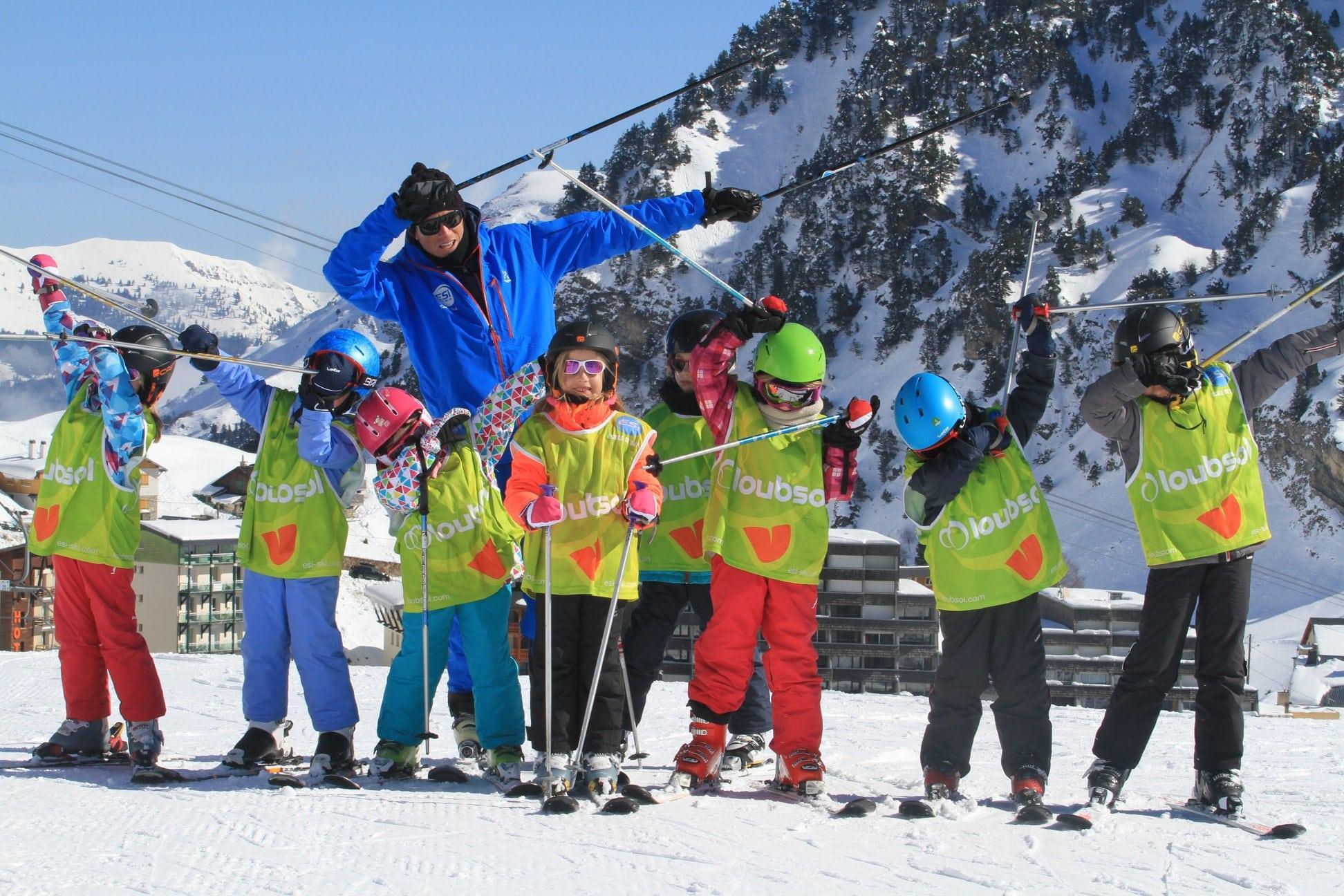 Cours de ski pour Enfants (5-13 ans) - Matin