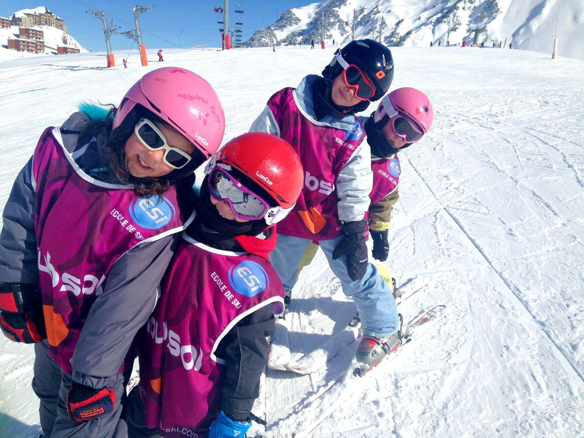 Cours de ski pour Enfants (5-13 ans) - Week-end
