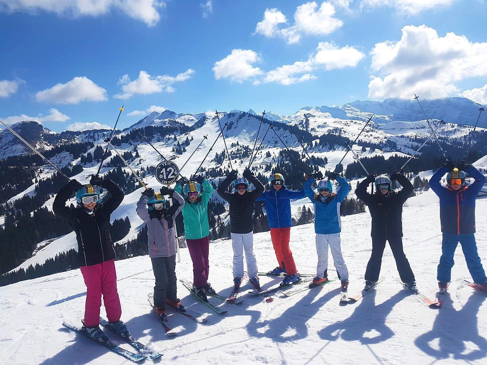 Cours de ski pour Enfants (5-13 ans) - A.-midi - Expérimenté