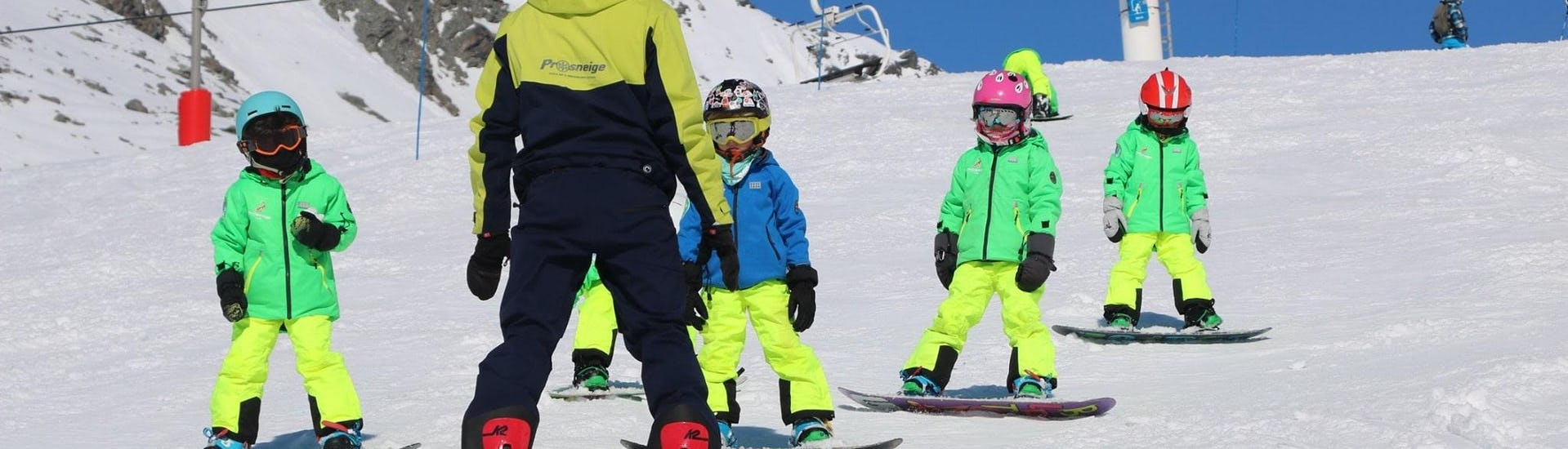 Kids Ski Lessons (5-13 years) - February 16-21 - Menuires