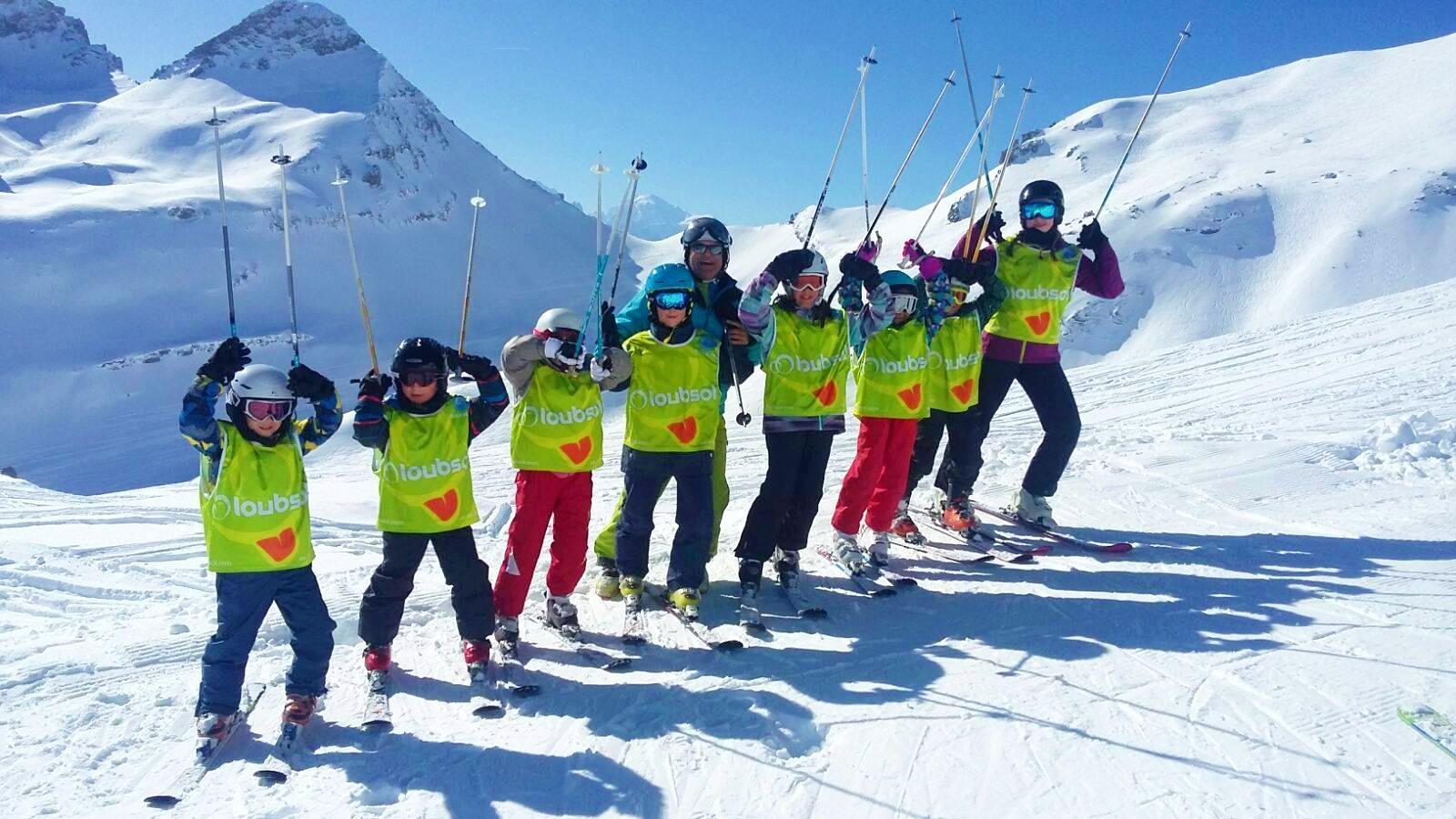 Cours de ski Enfants (5-17 ans) pour Expérimentés