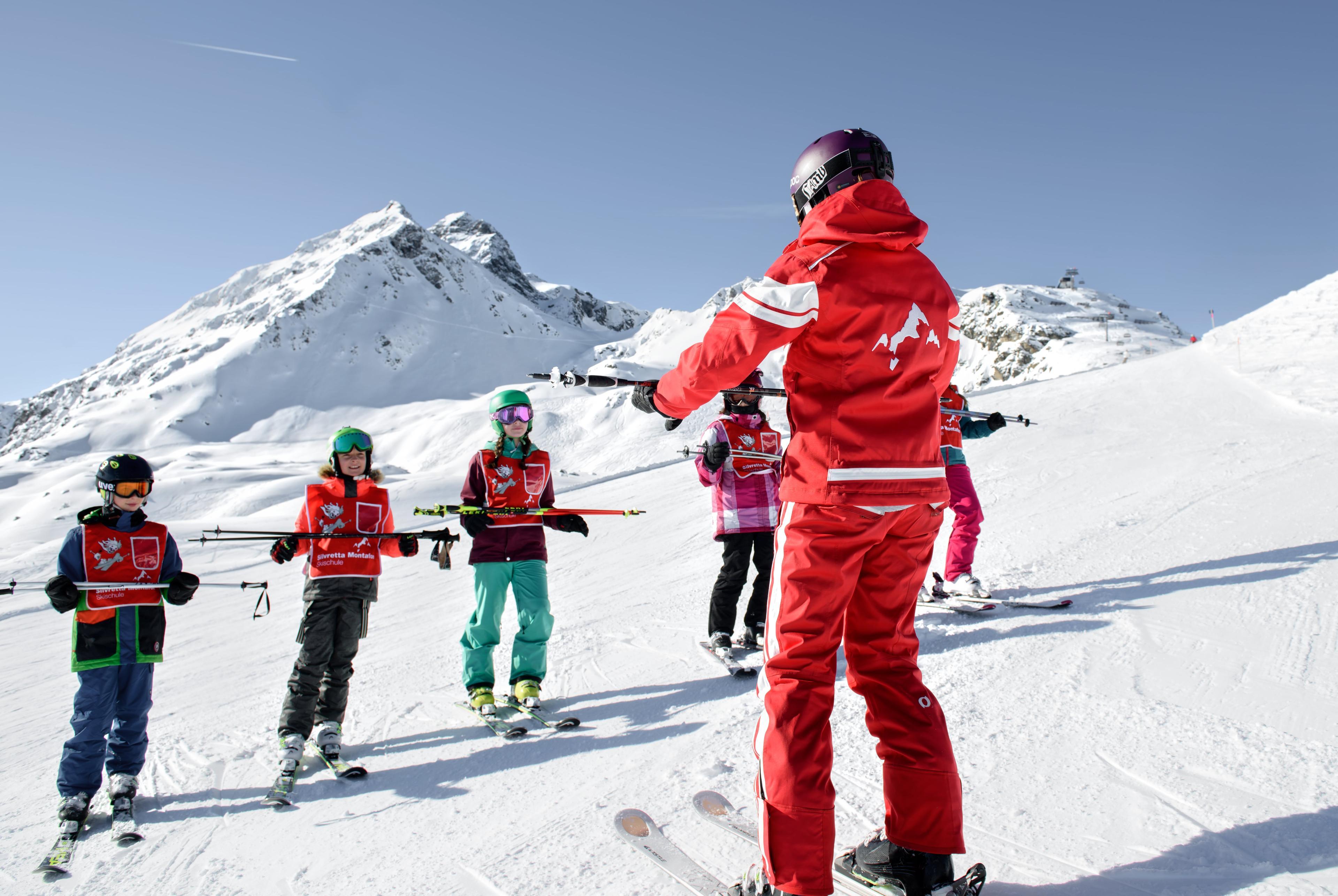Clases de esquí para niños a partir de 5 años para todos los niveles