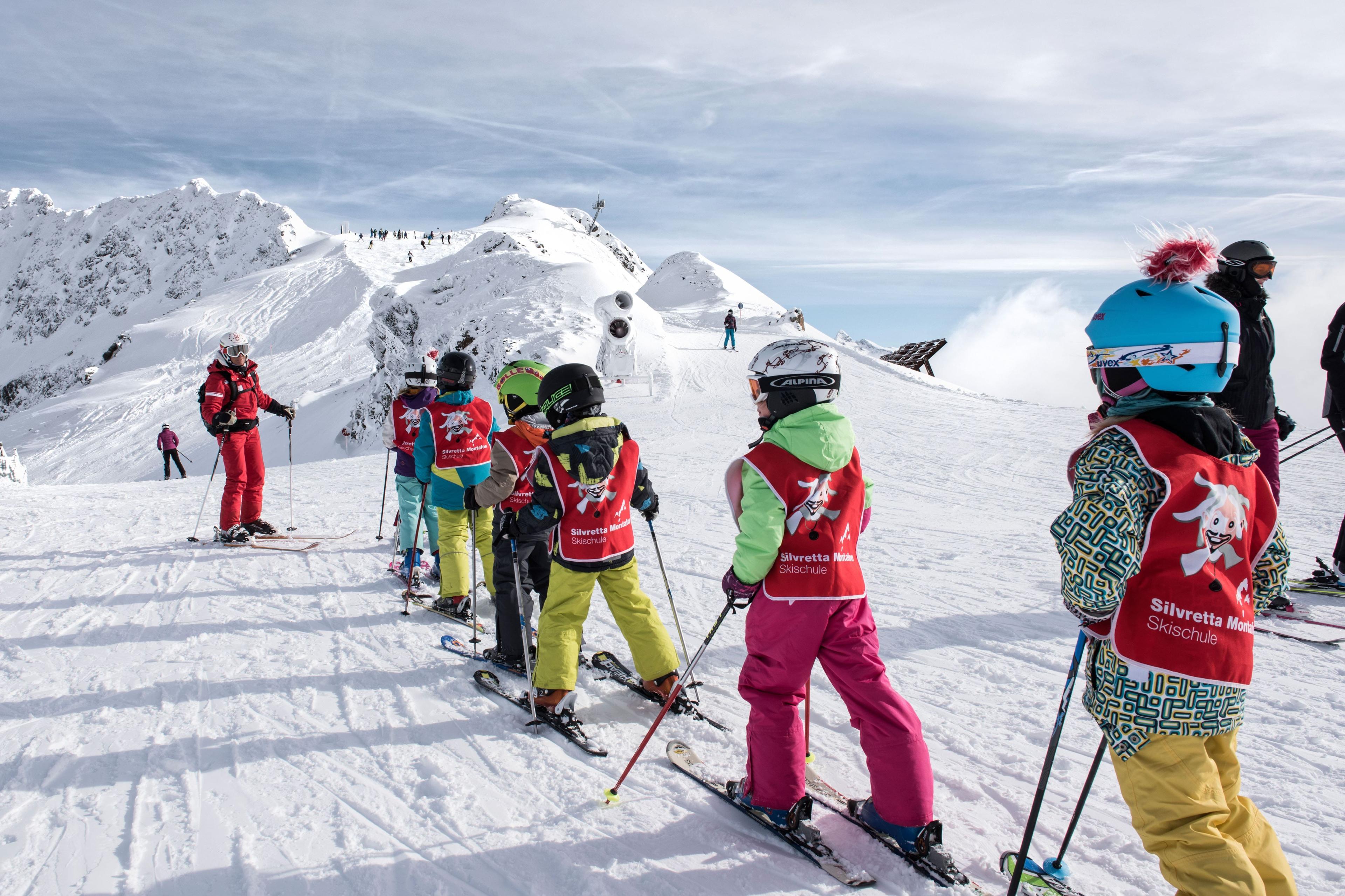 Clases de esquí para niños a partir de 5 años para principiantes