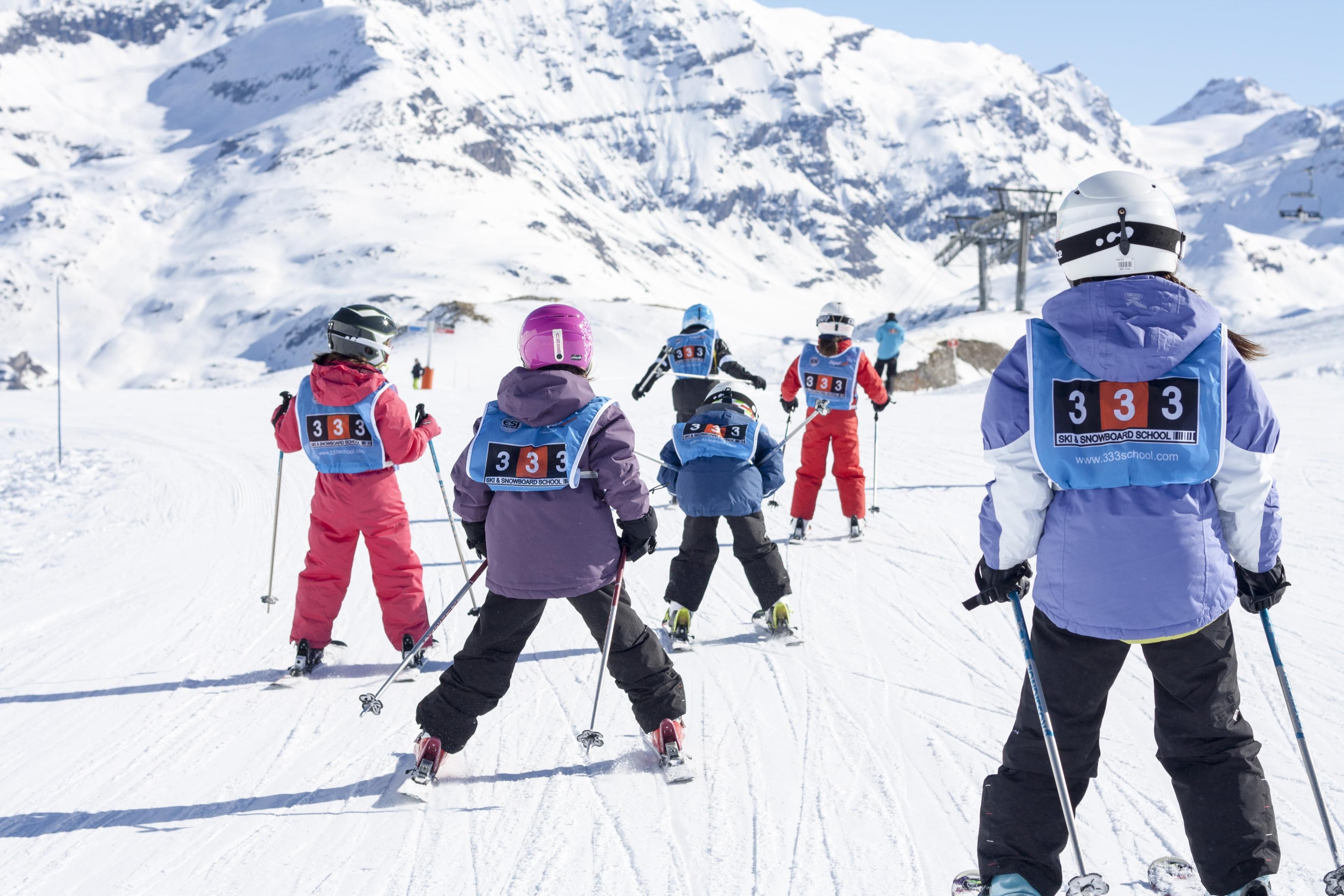 Cours de ski Enfants (5-17 ans) - Après-midi