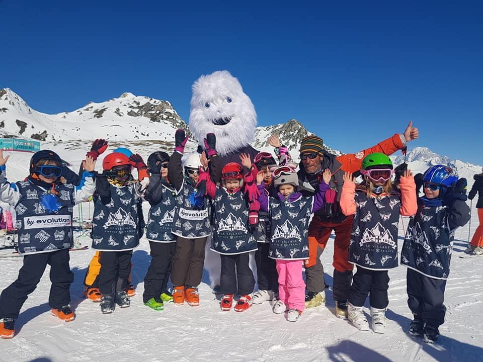 Premier Cours de ski Enfants (5-12 ans) - Matin - Arc 1800