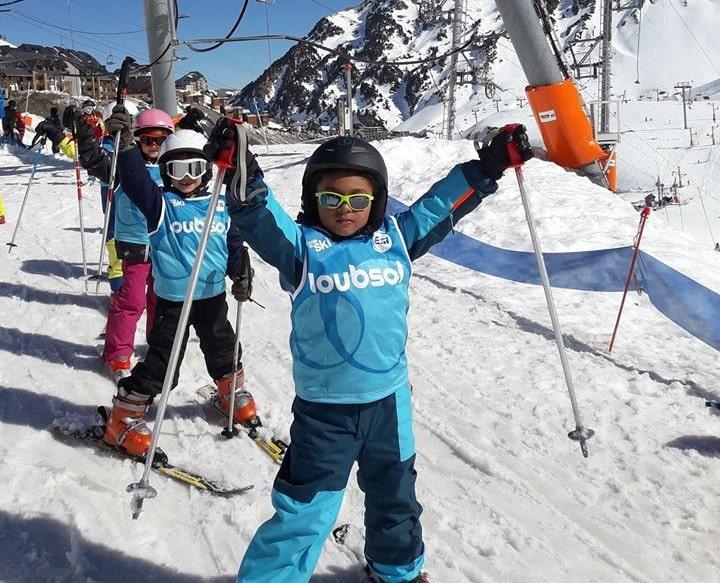 Cours de ski pour Enfants (5-8 ans) - Après-midi - 1er cours