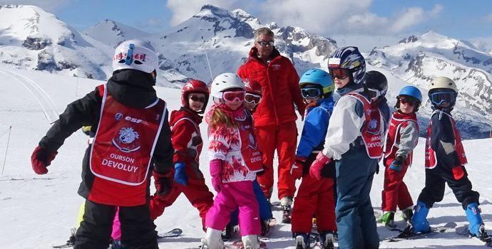 Cours de ski Enfants (6-12 a) - Février - Intermédiaire