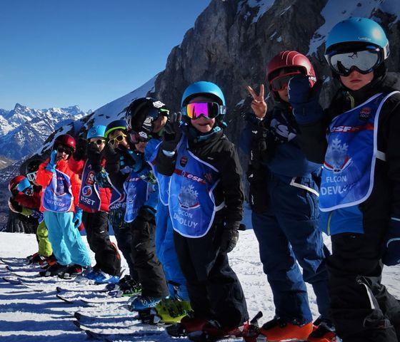 Cours de ski pour Enfants (6-12 ans) - Intermédiaire