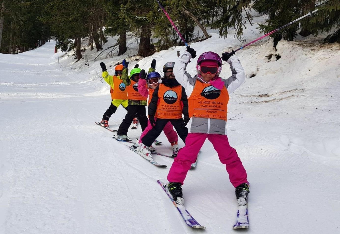 Cours de ski Enfants (6-12 ans) - Max 5 - Crans