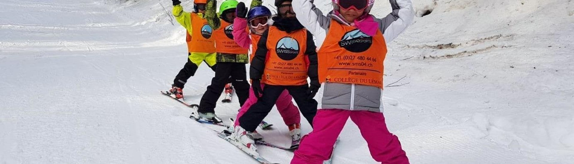 Kids Ski Lessons (6-12 years) - Max 5 - Crans - All Levels