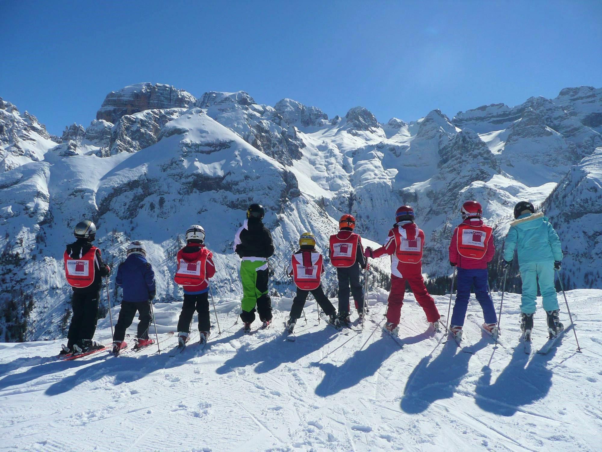 Skilessen voor kinderen vanaf 6 jaar - vergevorderd