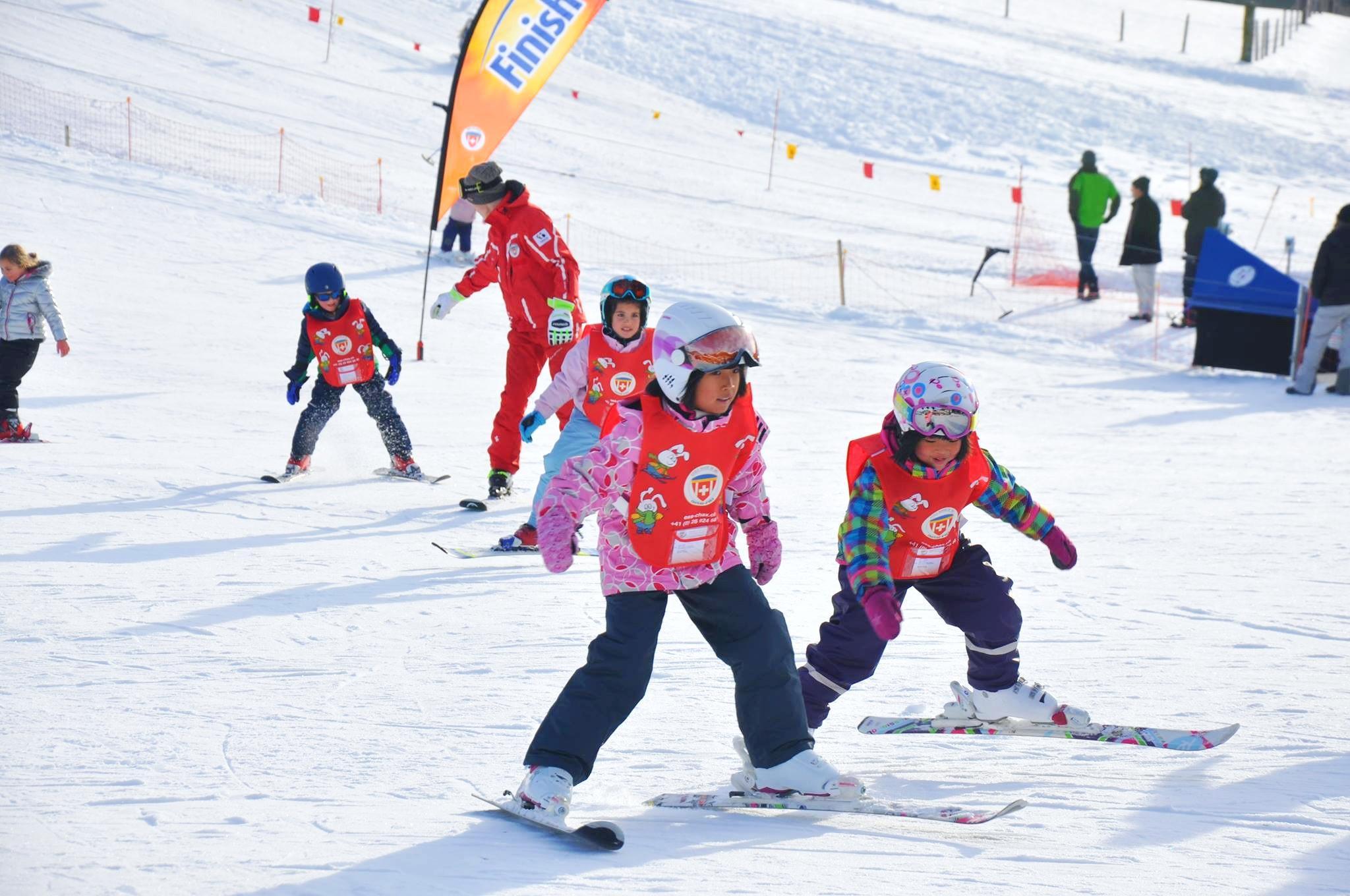 Cours de ski Enfants (6-14 ans) depuis Bulle