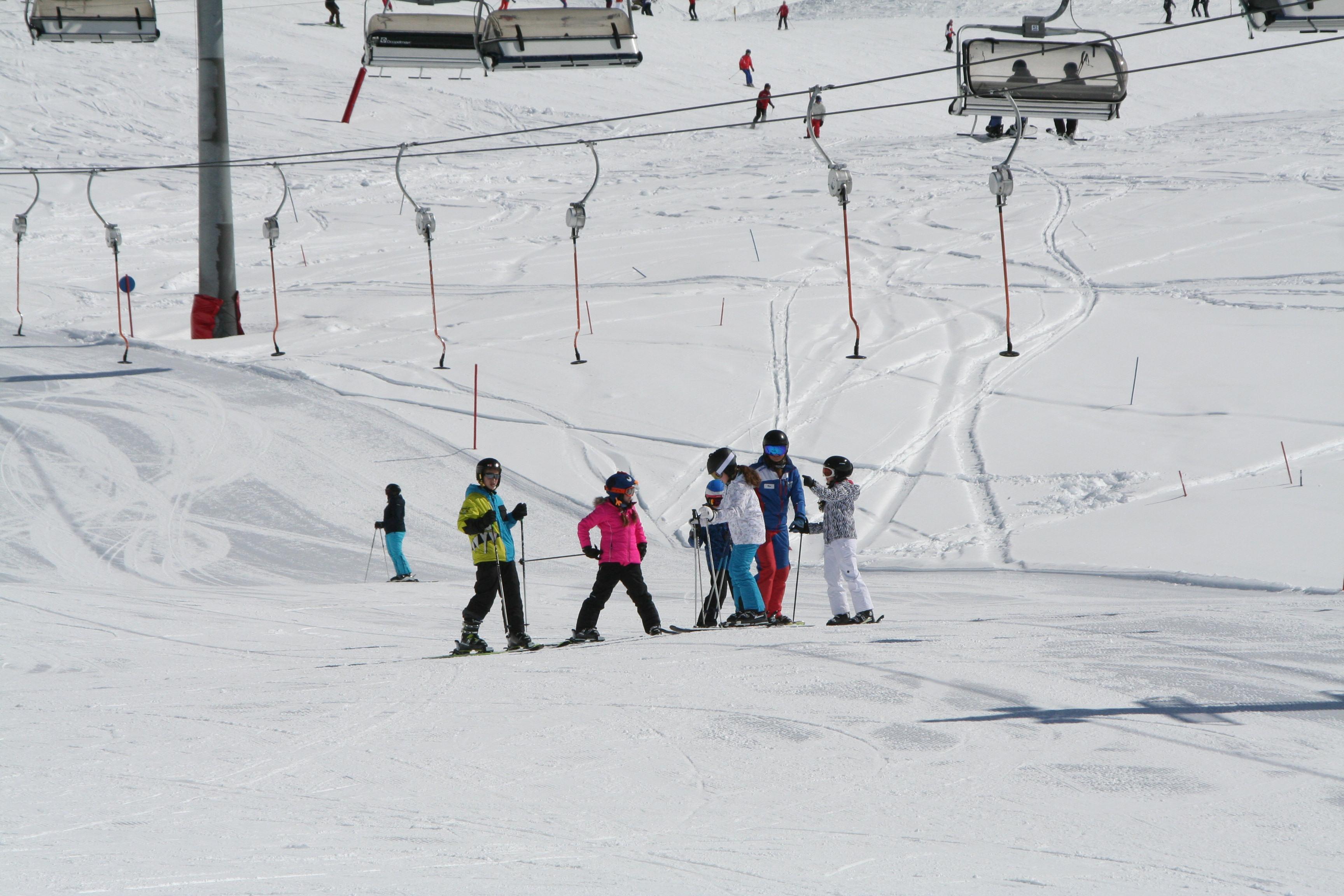 Cours de ski Enfants dès 6 ans - Avancé
