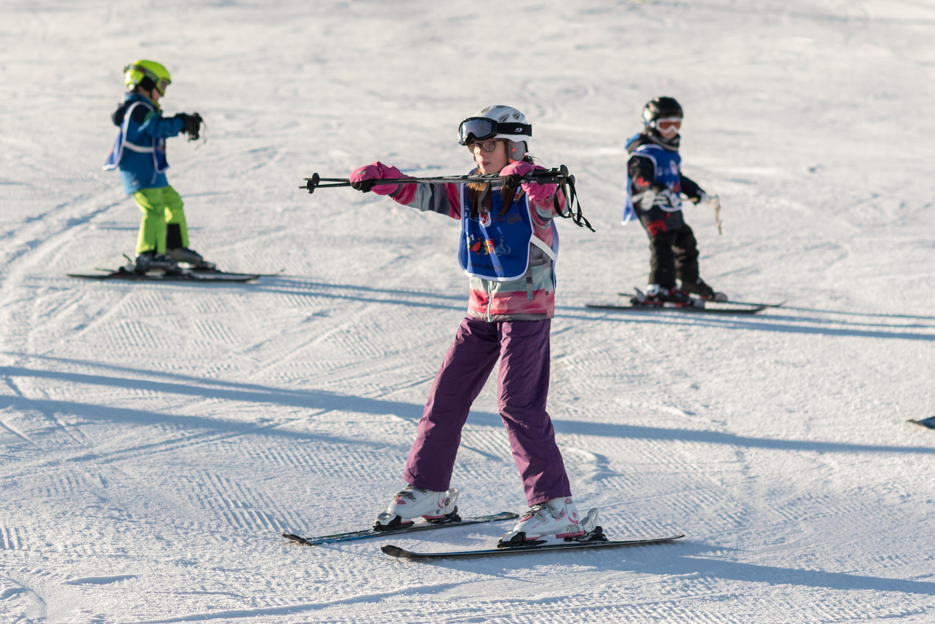 Cours de ski Enfants (6-15 ans) pour Tous niveaux - Vacances