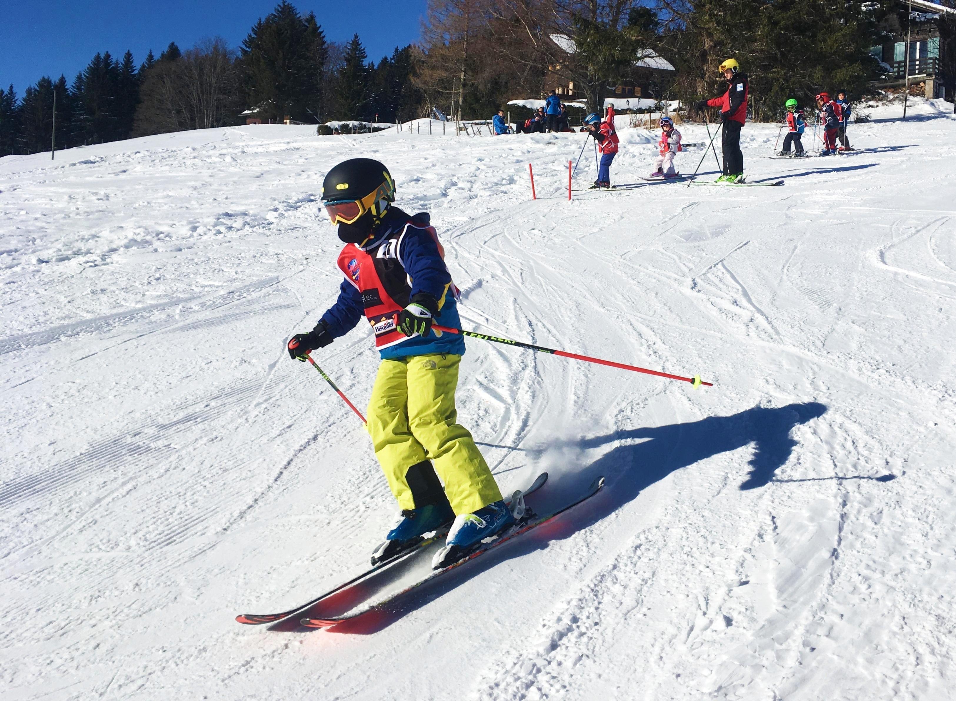 Cours de ski Enfants (6-17 ans) - Vacances