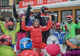 Kids Ski Lessons (7-15 y.) - Junior Club