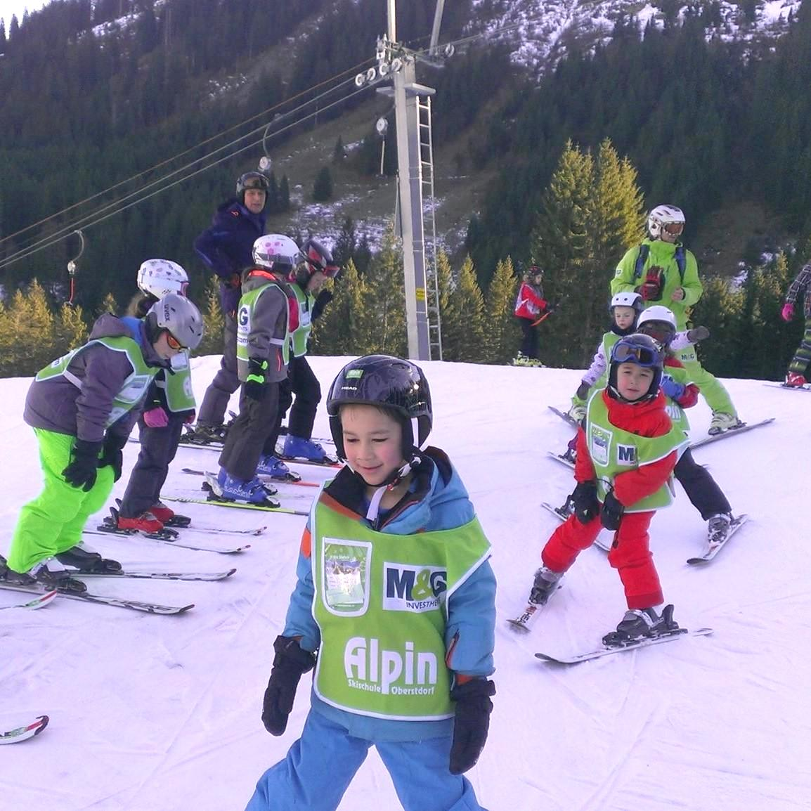 Skilessen voor kinderen vanaf 6 jaar - licht gevorderd