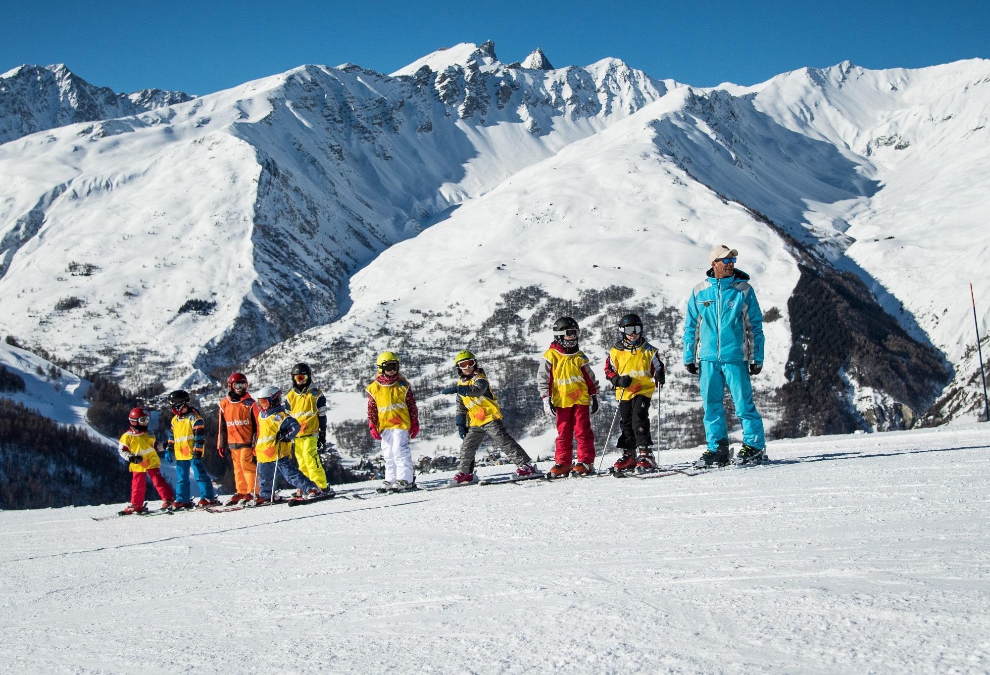 Skilessen voor kinderen vanaf 8 jaar - licht gevorderd
