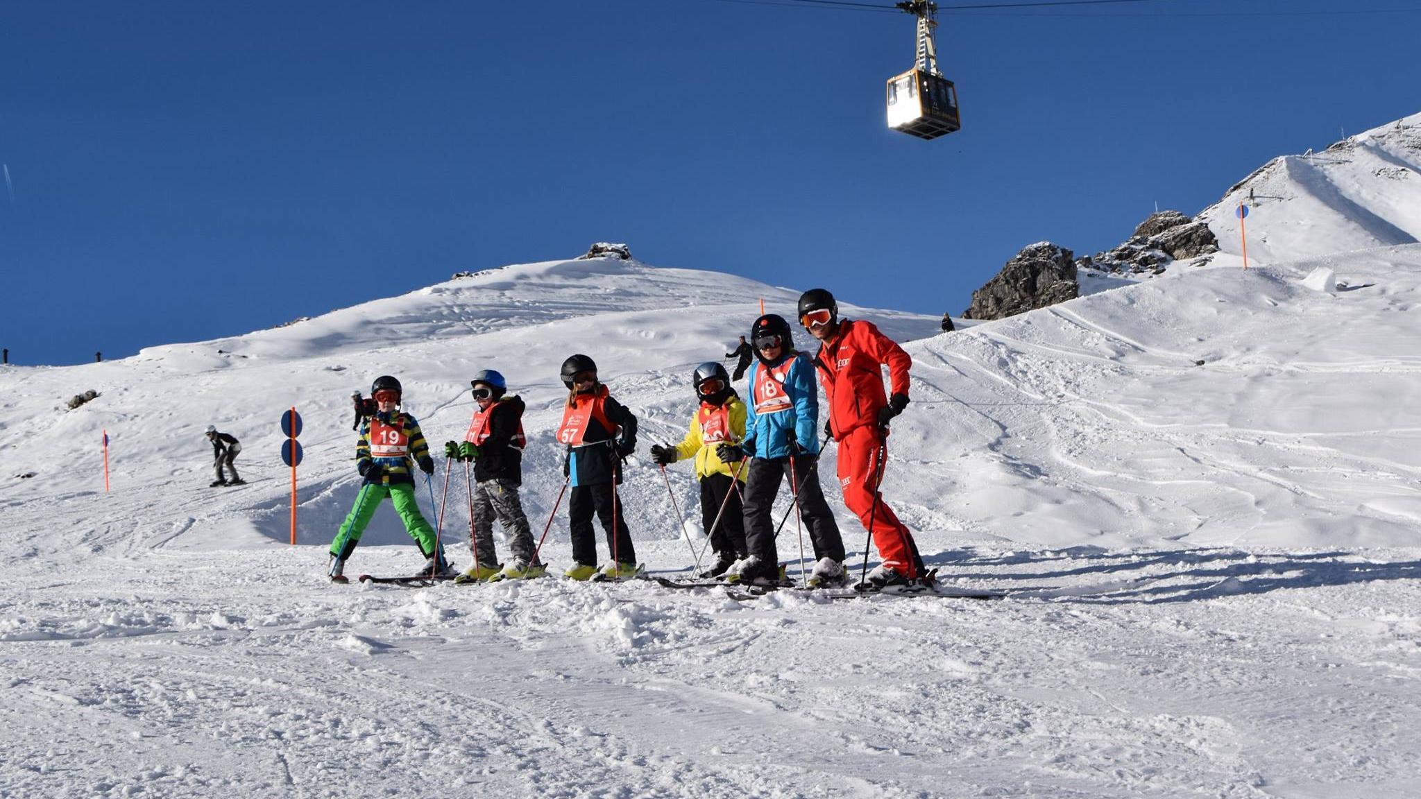 Kids Ski Lessons 9 16 Years All Levels Neue Skischule Oberstdorf