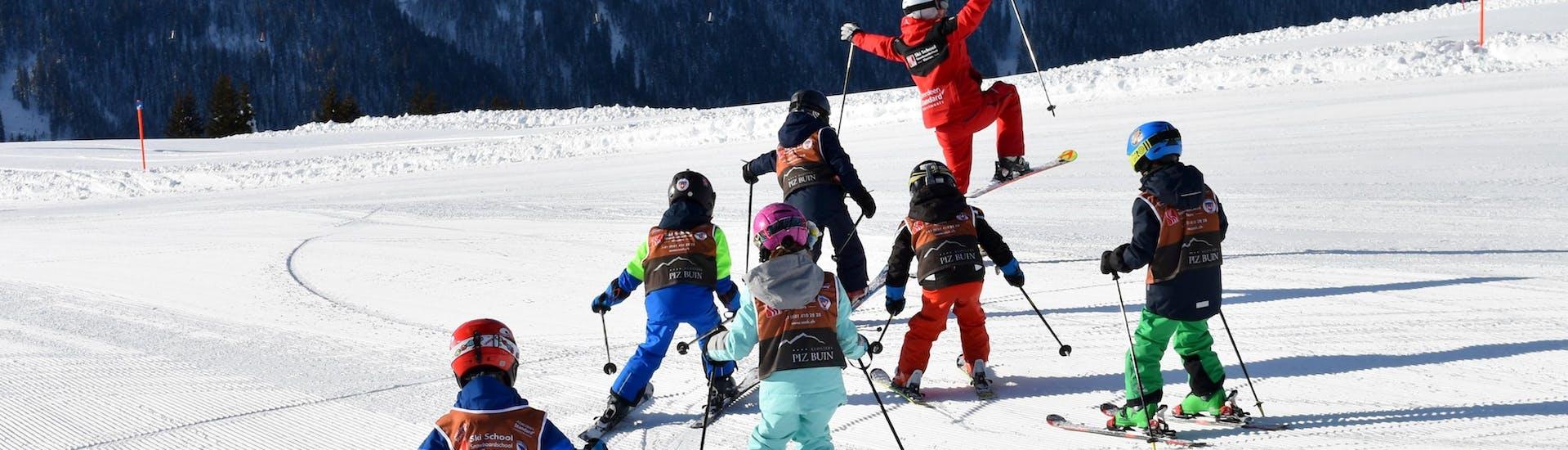 Kids Ski Lessons (6-16 y.) for Advanced Skiers