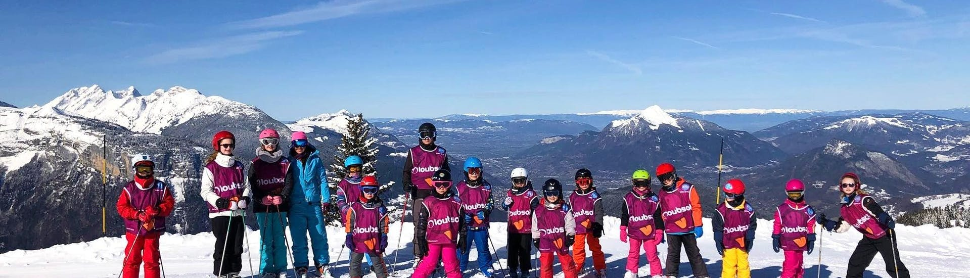 kids-ski-lessons-afternoon-flaine-esi-grand-massif