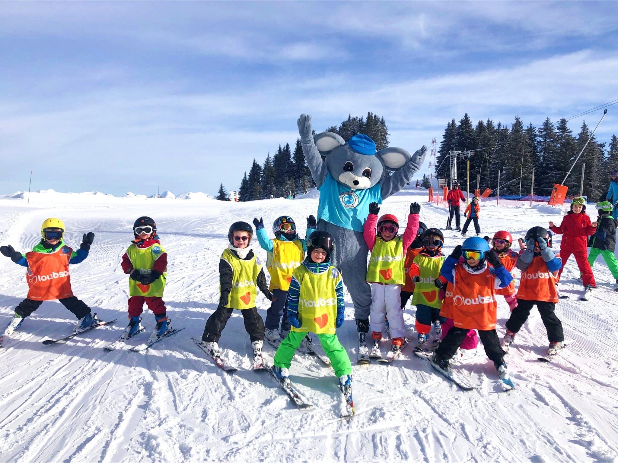 Cours de ski Enfants (4-15 ans) - Après-midi