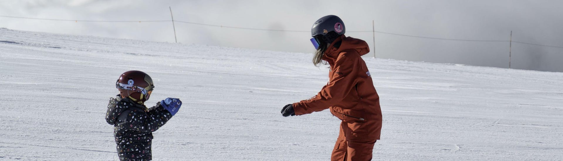 Kids Ski Lessons (3½-4 years) - First Timer - With Transfer