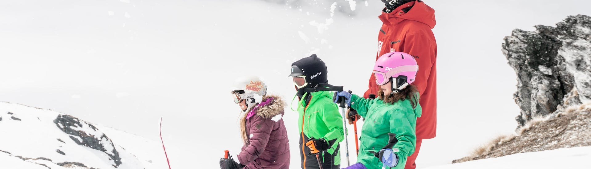 Kids Ski Lessons (5-17 years) - All Levels