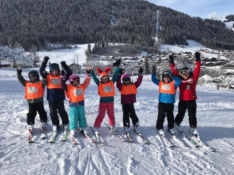 Cours de ski Enfants (3-16 ans) avec Expérience - Noël