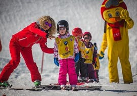 "Kids Ski Lessons ""Club Piou-Piou"" (3-5 y.) with ESF Courchevel Village"