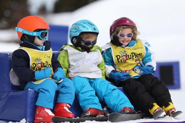 """Cours de ski Enfants """"Club Piou-Piou"""" (dès 5 ans)"""