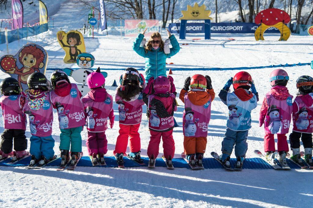 """Cours de ski pour Enfants """"Club Souris"""" (5-7 ans)"""