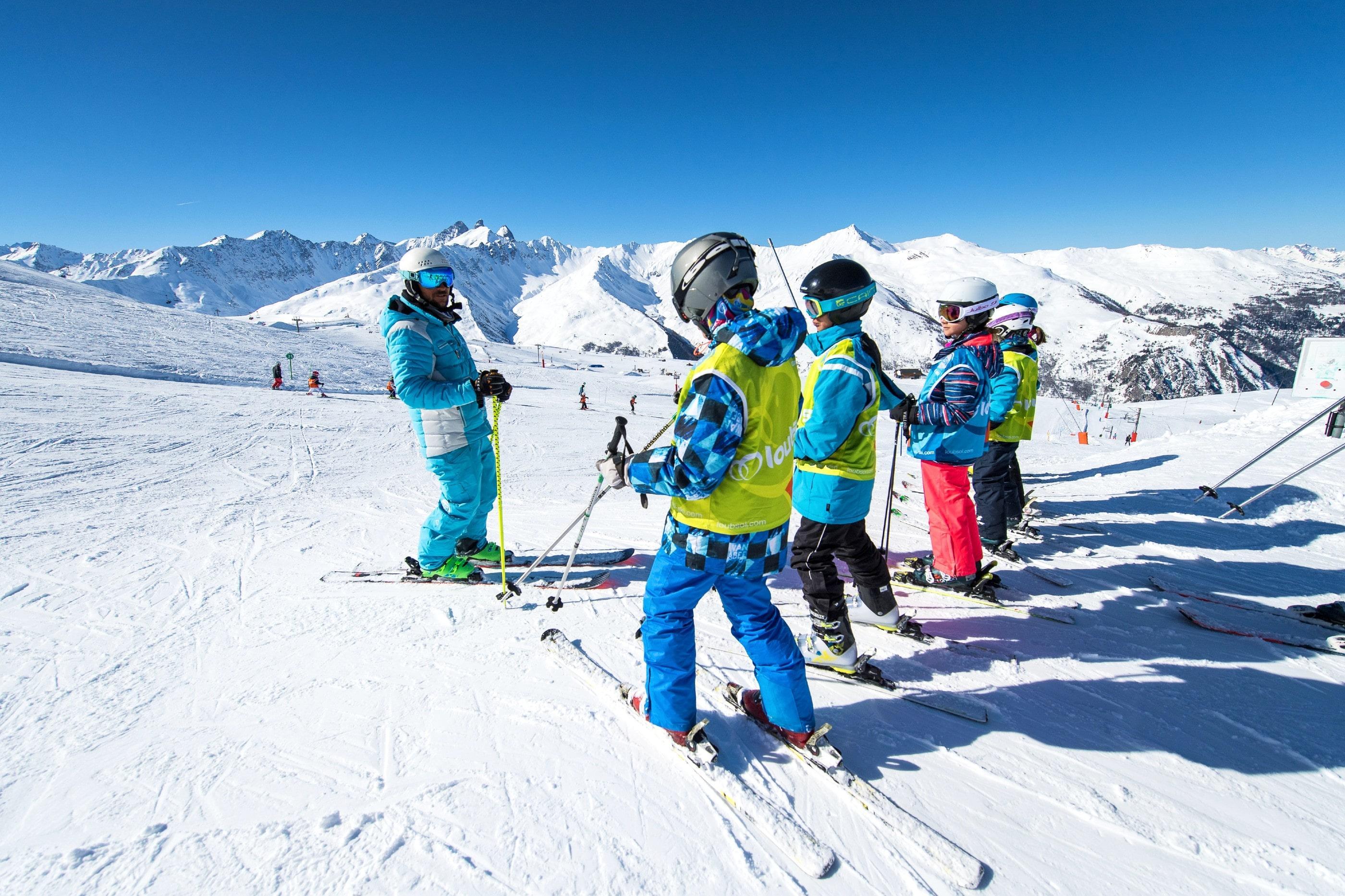 Skilessen voor kinderen (5-1 j.) voor Alle niveaus