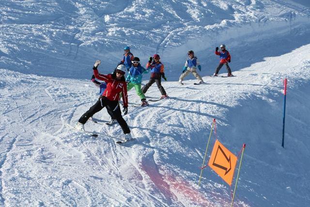 Cours de ski Enfants (3-16 ans) avec Expérience