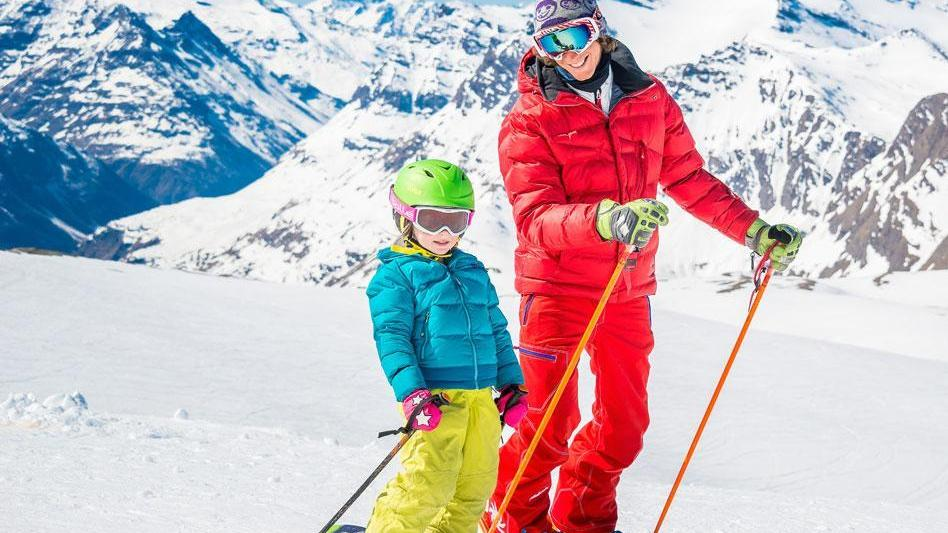 """Cours de ski Enfants """"Ourson/Flocon"""" (5-12 ans) - Débutant"""