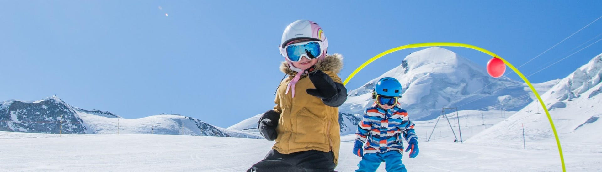 Kids Ski Lessons (from 4 y.) for All Levels