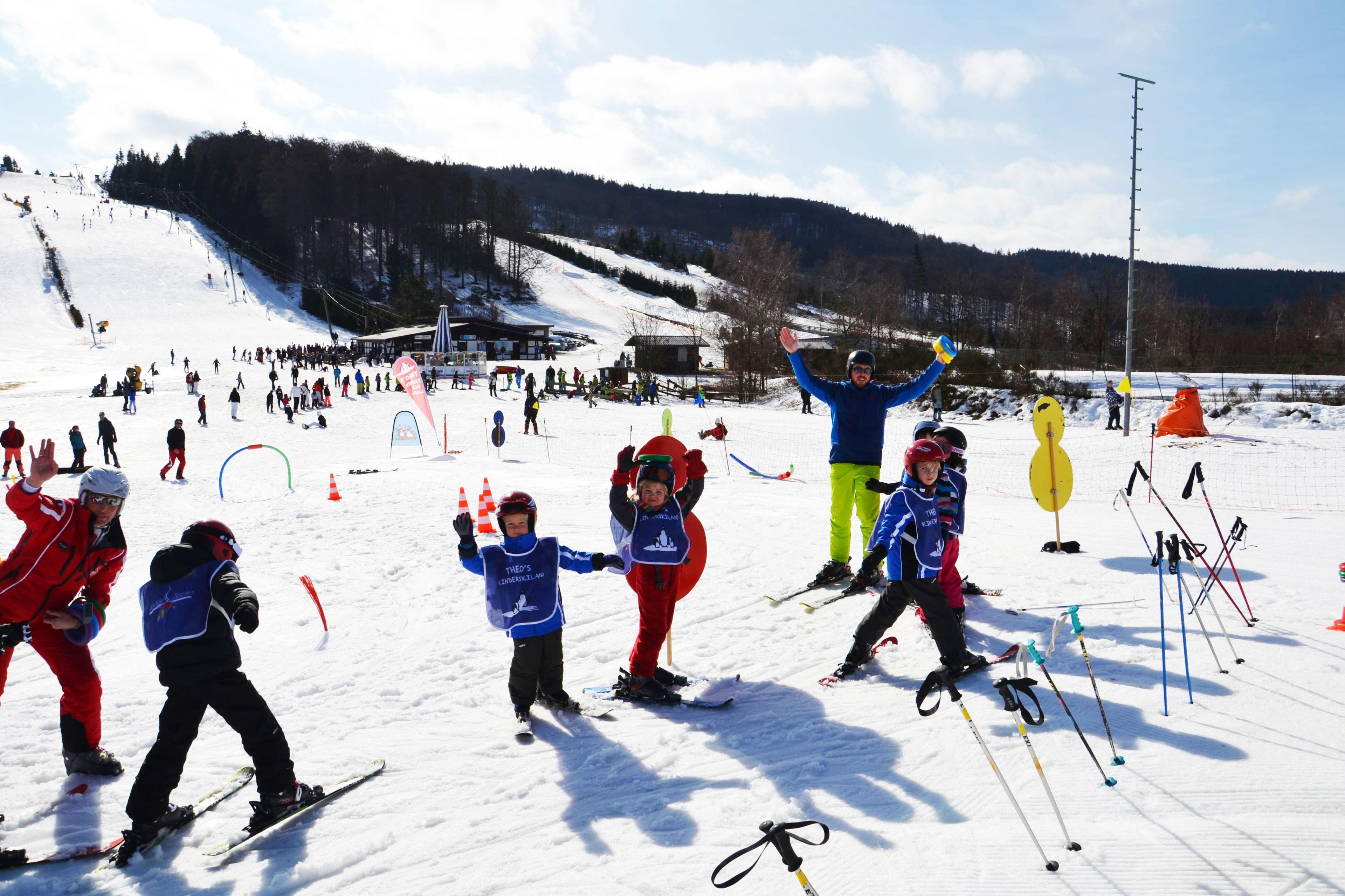 Skilessen voor kinderen (vanaf 5 jaar) - Alle niveaus