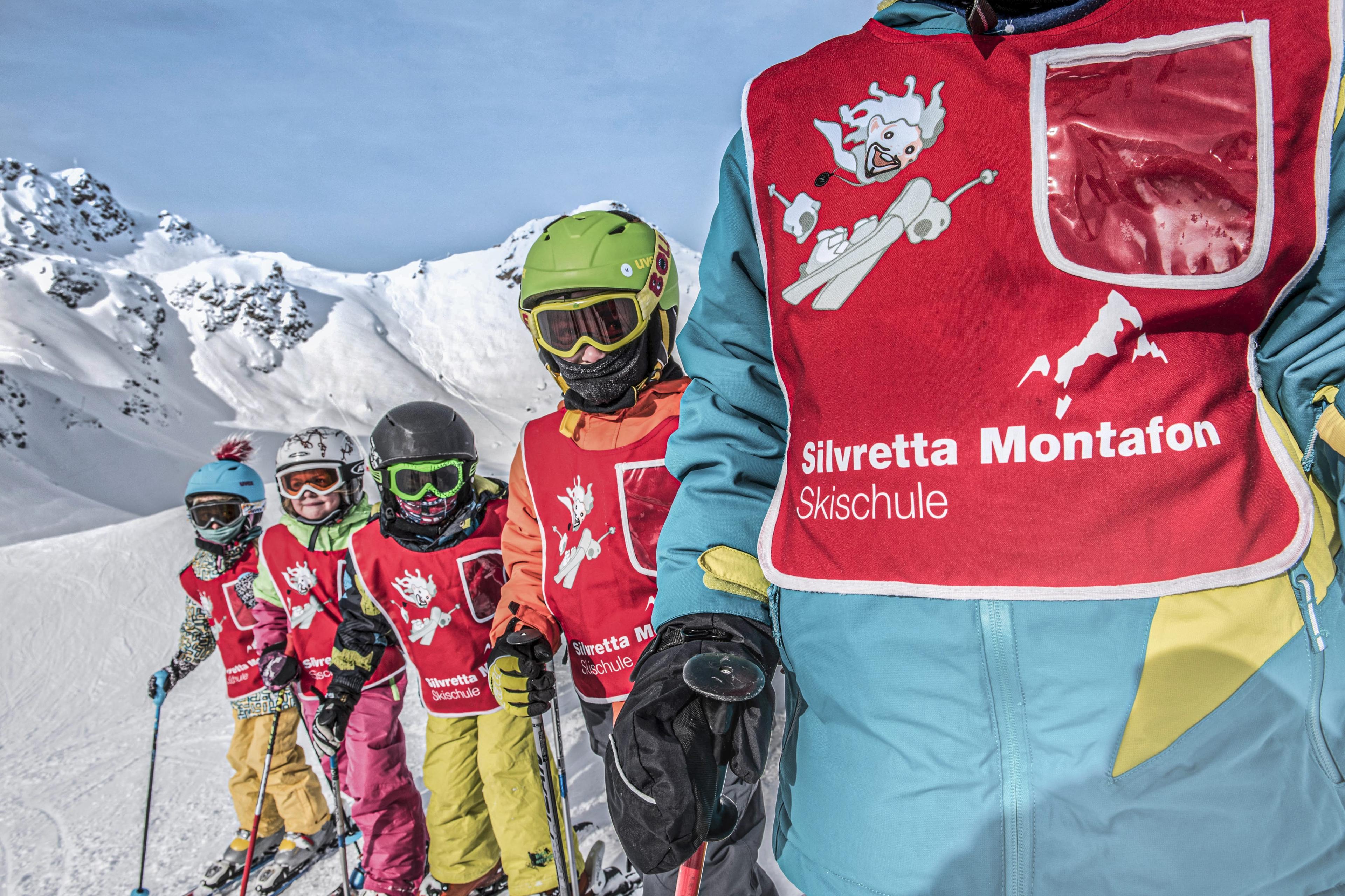 Clases de esquí para niños a partir de 5 años para debutantes