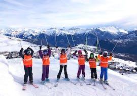 Skilessen voor kinderen vanaf 6 jaar voor alle niveaus met ESI La Toussuire