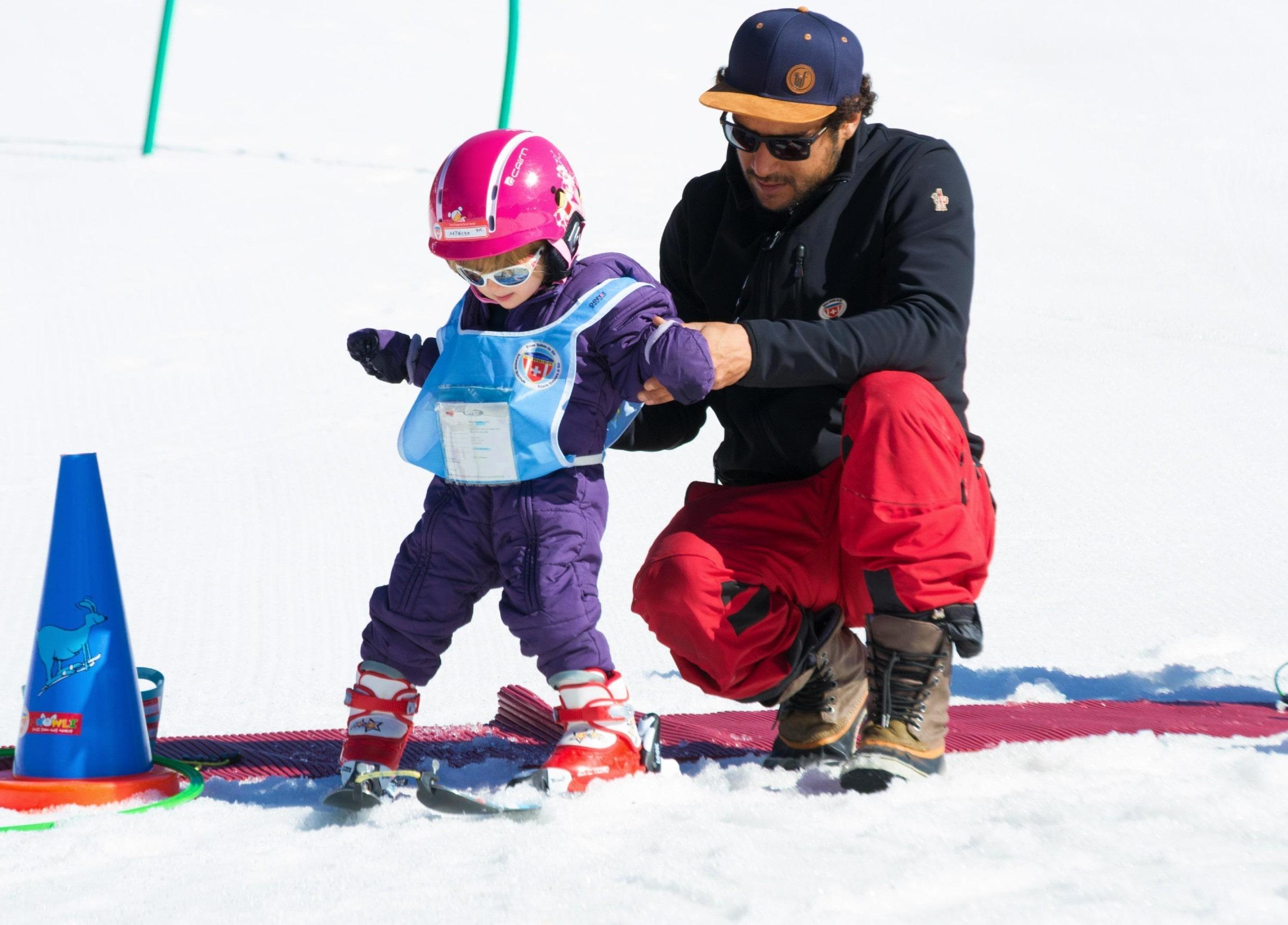 """Cours de ski Enfants """"Kids Club"""" (3-5 ans)"""