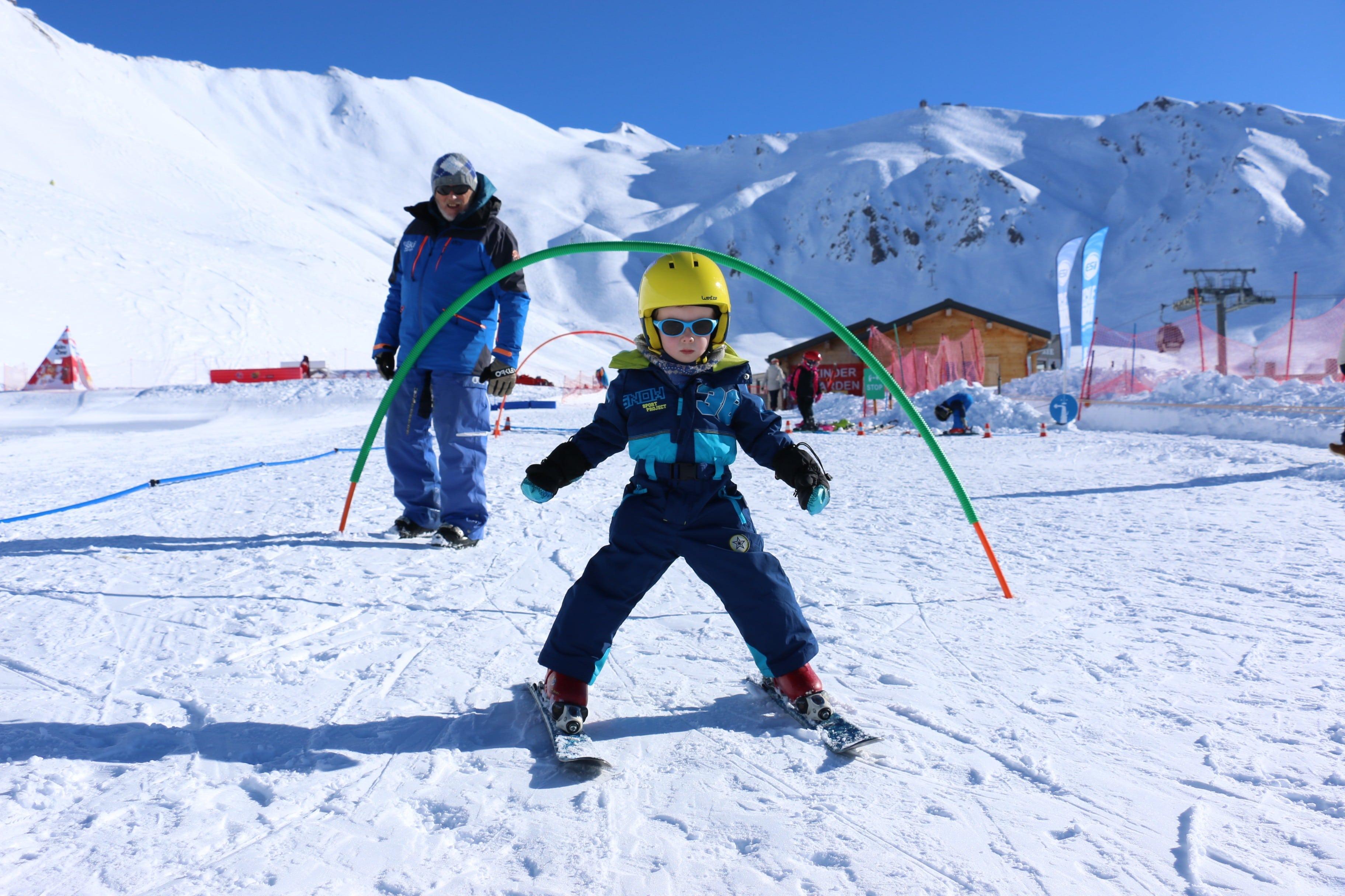 """Cours de ski Enfants """"Jardin d'enfants"""" (3-5 ans) - Février"""